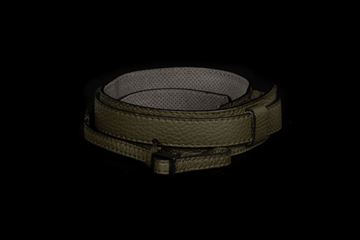 Picture of Angelo Pelle Neck Strap, Ferrara SL - Safari Green