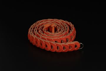Picture of Angelo Pelle Neck Strap, Milano Vacchetta - Orange, 103cm