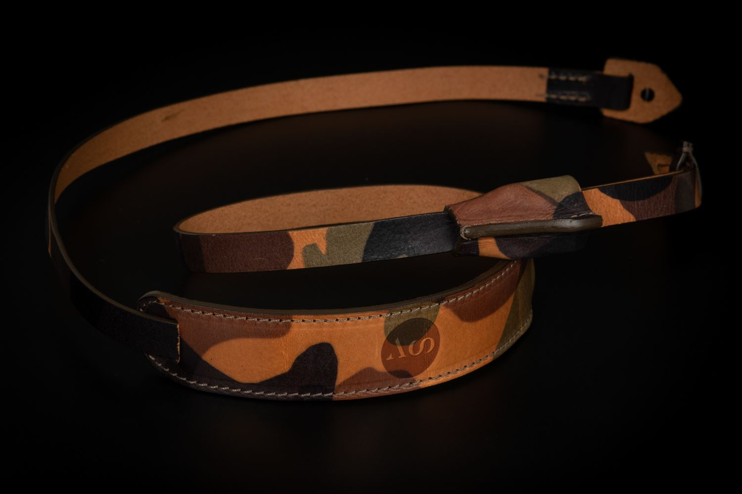 Picture of Angelo Pelle Neck Strap, Padded - Camouflage Pad and Belt
