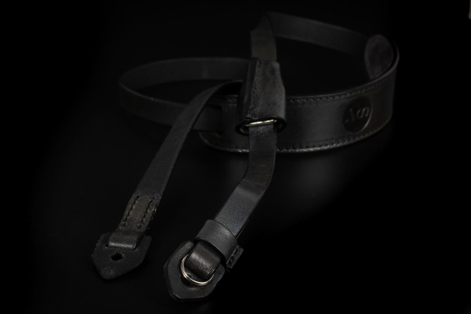 Picture of Angelo Pelle Neck Strap, Padded - Camouflage Black Silver