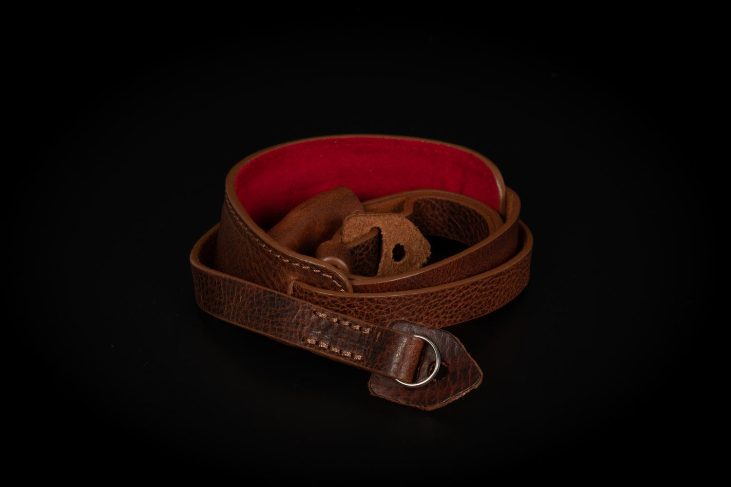 Picture of Angelo Pelle Neck Strap, Padded - Moka Extra Soft Limited
