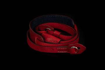 Picture of Angelo Pelle Neck Strap, Padded - Red