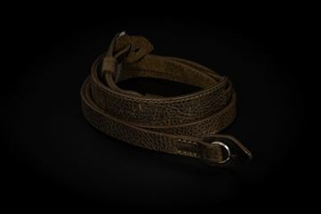 Picture of Angelo Pelle Neck Strap, Padded - Safari Green Limited