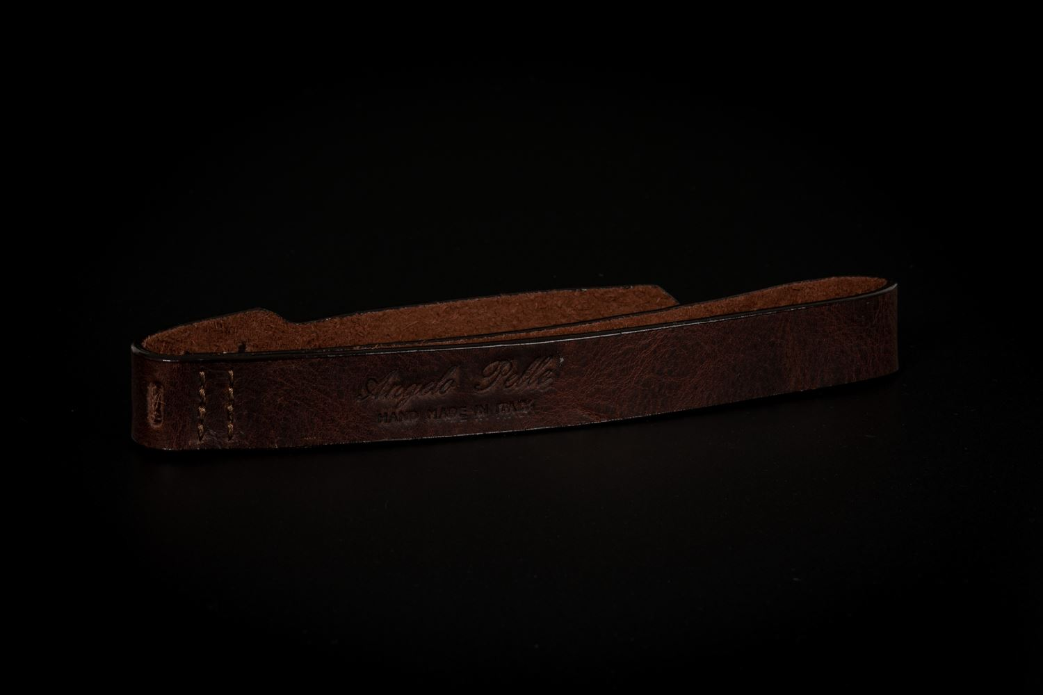 Picture of Angelo Pelle Wrist Strap, SL - Moka Brown