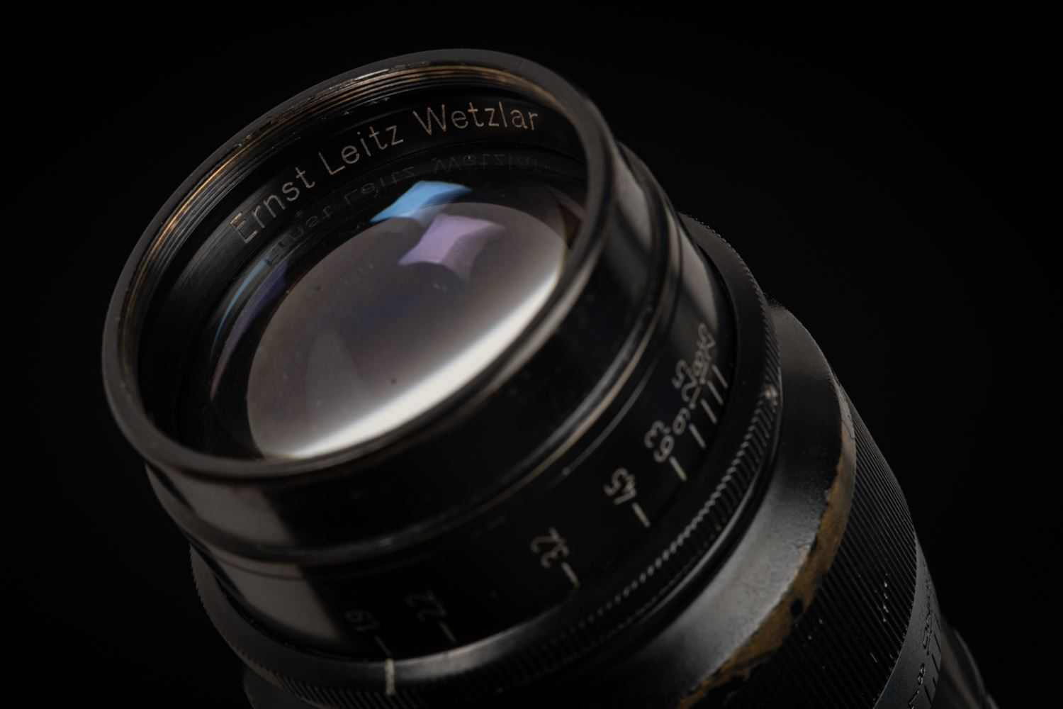 Picture of Leica Hektor 73mm f/1.9 Black/Chrome