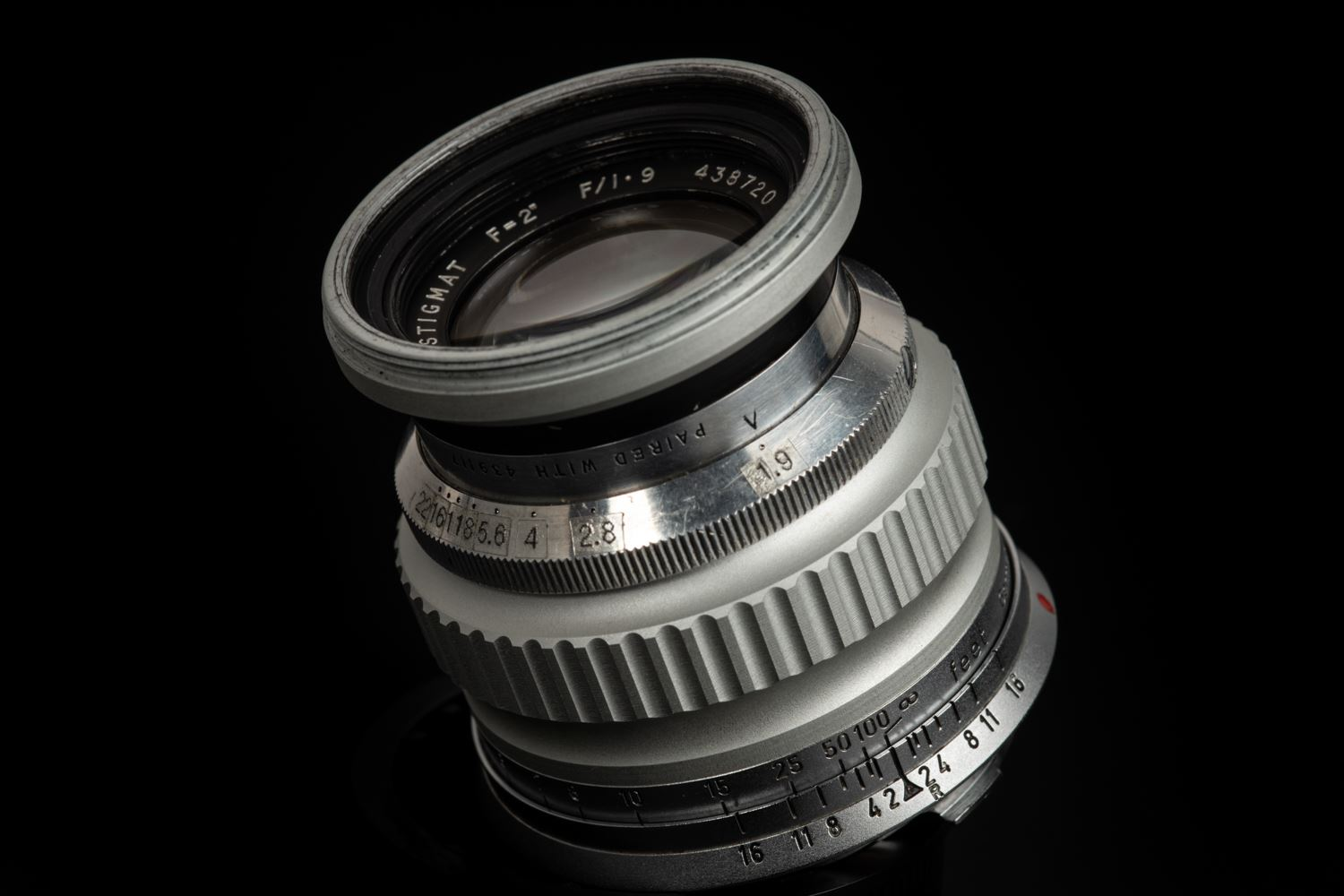 Picture of Dallmeyer Super-Six 50mm f/1.9 Modified to Leica M