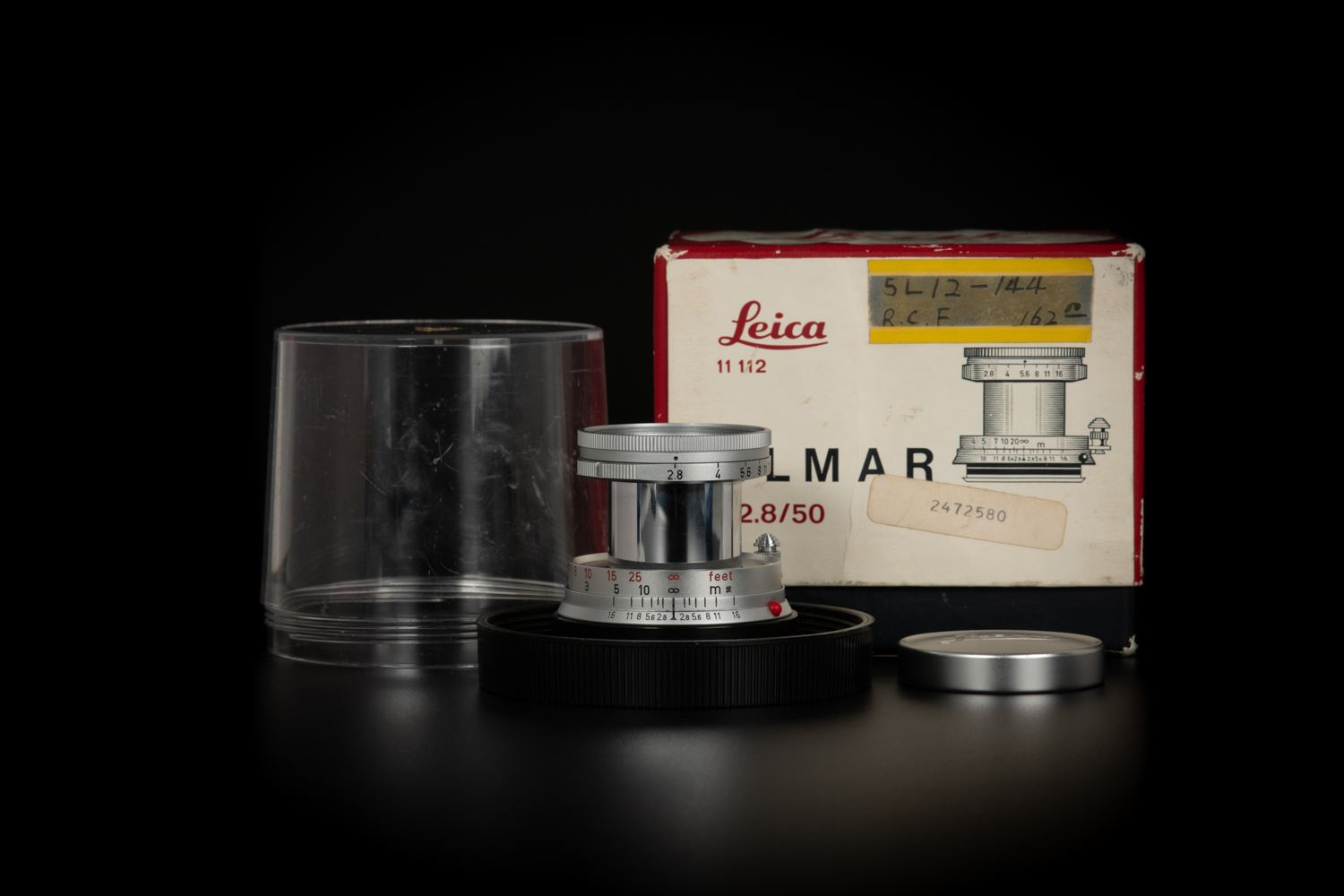 Picture of Leica Elmar-M 50mm f/2.8 Collapsible