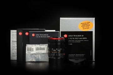 Picture of Leica WATE Tri-Elmar-M 16-18-21mm f/4 ASPH Black