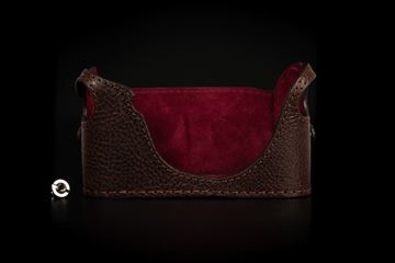 Picture of Angelo Pelle Half Case for M10 - Moka Brown