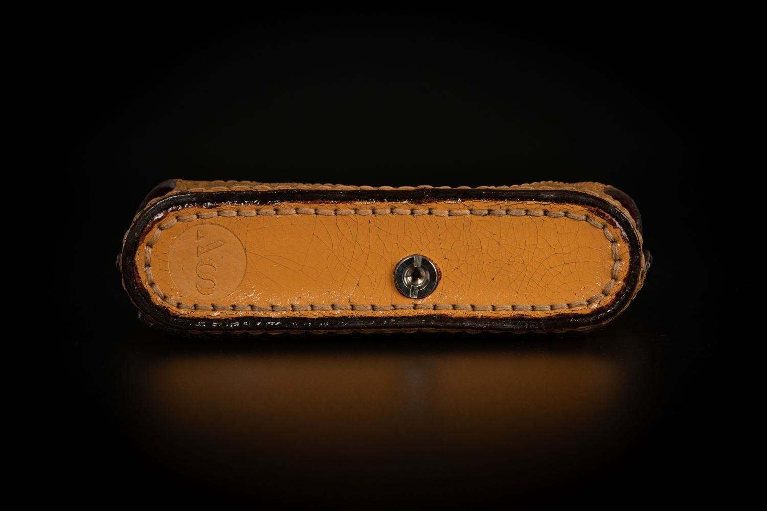 Picture of Angelo Pelle Half Case for M10 - Yellow Cracked