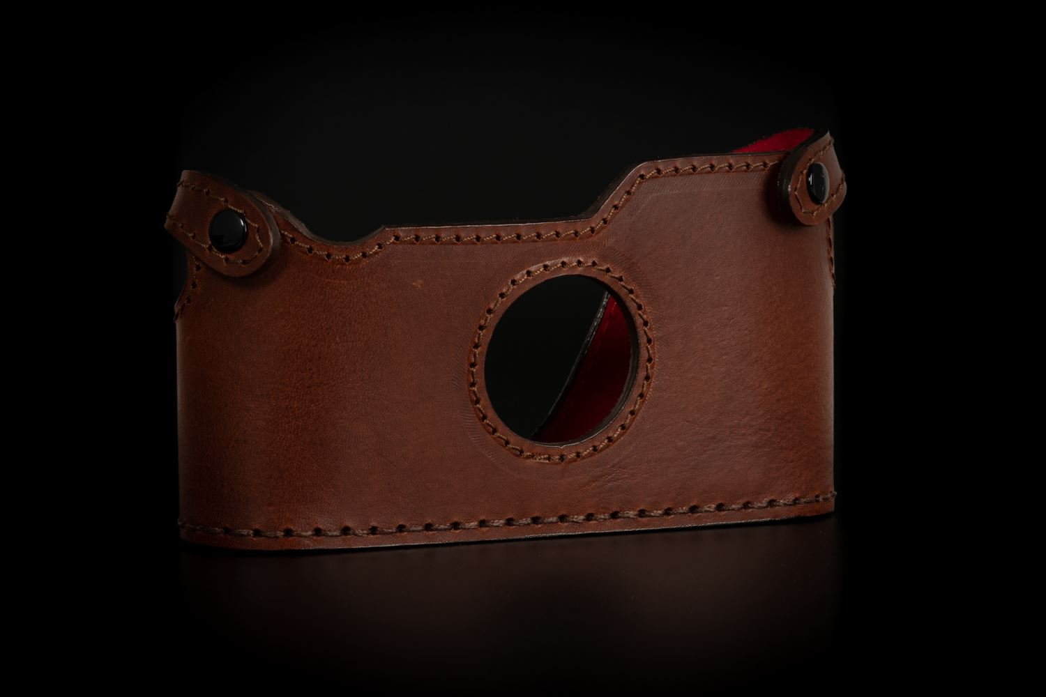 Picture of Angelo Pelle Half Case for Film M - Moka Brown