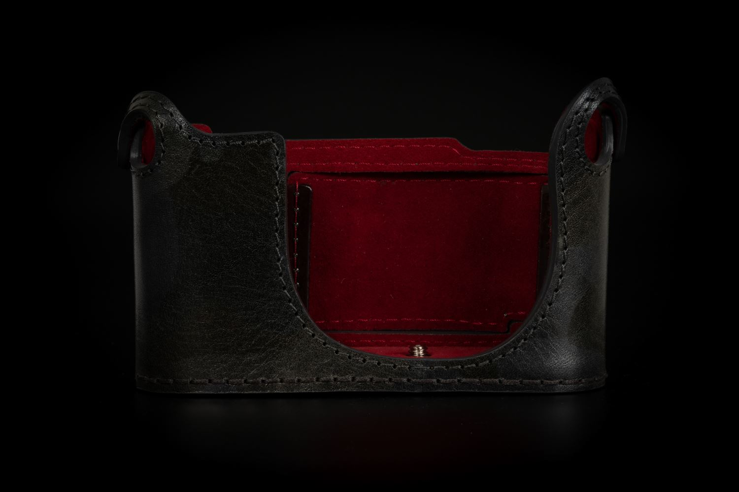 Picture of Angelo Pelle Half Case for Q2 - Black Silver Camouflage