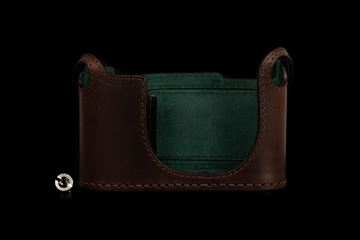 Picture of Angelo Pelle Half Case for Q2 - Moka Brown