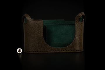 Picture of Angelo Pelle Half Case for Q2 - Safari Green