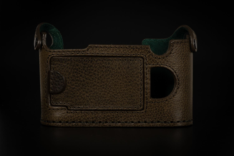Picture of Angelo Pelle Half Case for Q2 - Safari Green
