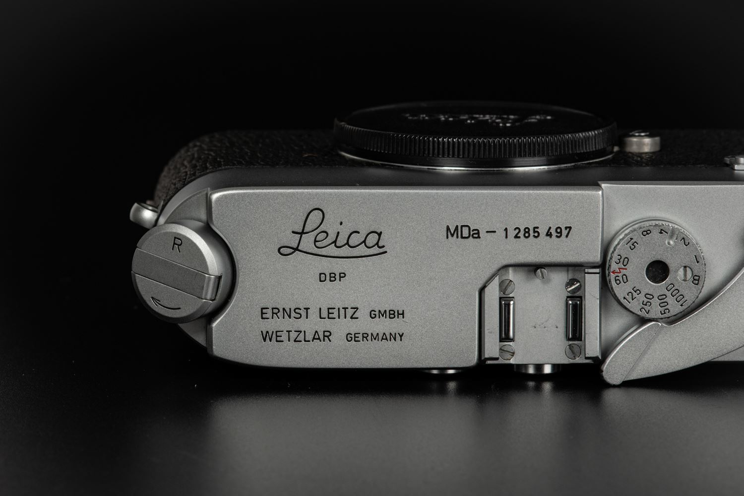 Picture of Leica Mda Silver with New York Motor Drive