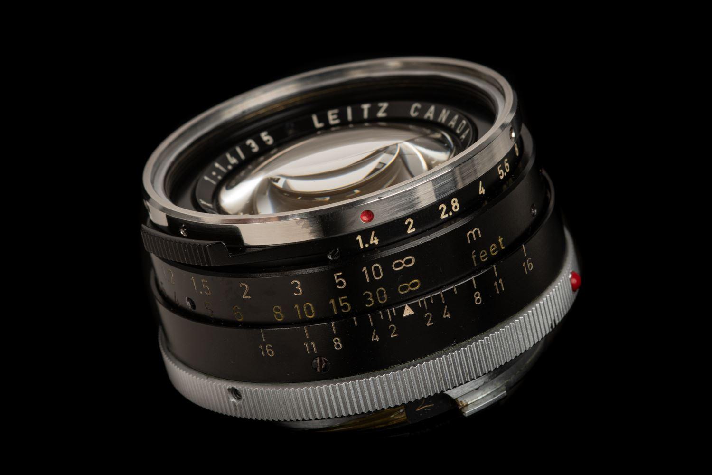 Picture of Leica Summilux-M 35mm f/1.4 Ver.1 Steel Rim Black