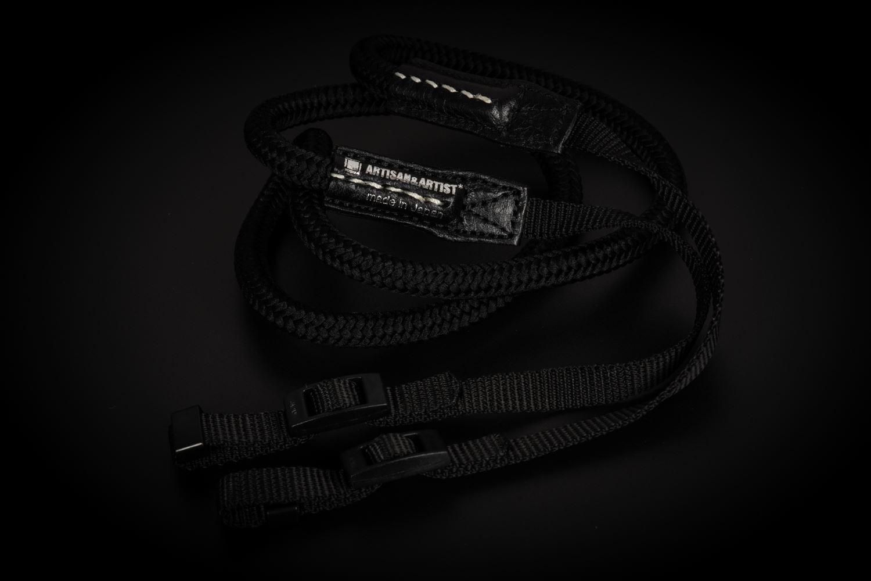 Picture of Artisan & Artist ACAM-307N Black Silk Strap