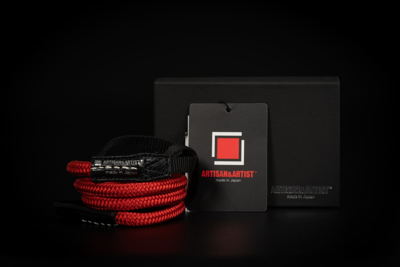 Picture of Artisan & Artist ACAM-307N Red Silk Strap
