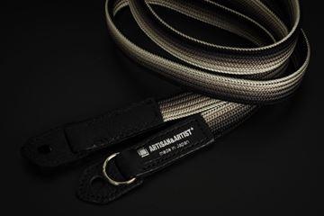 Picture of Artisan & Artist ACAM-312N Black/Silver Silk Strap