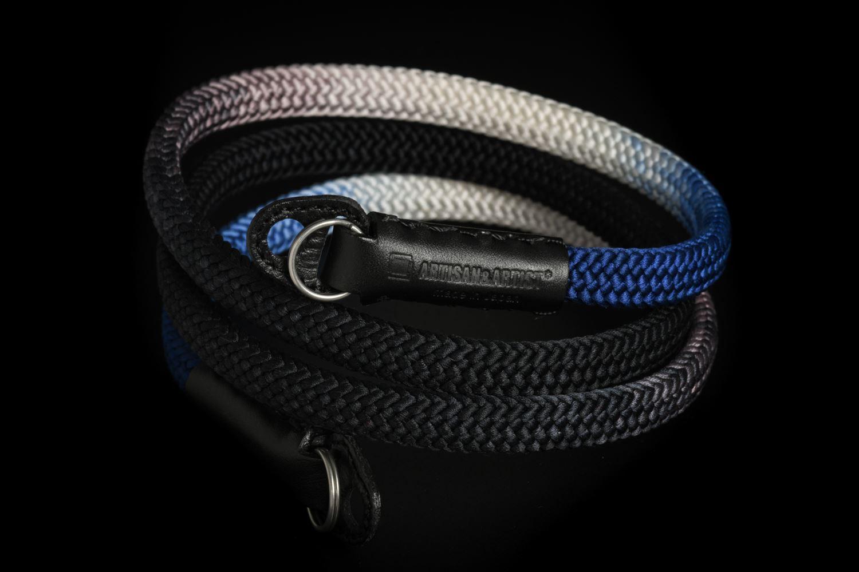 Picture of Artisan & Artist ACAM-316G Black/Navy Silk Strap