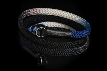 Picture of Artisan & Artist ACAM-316G Black/Navy Silk Strap