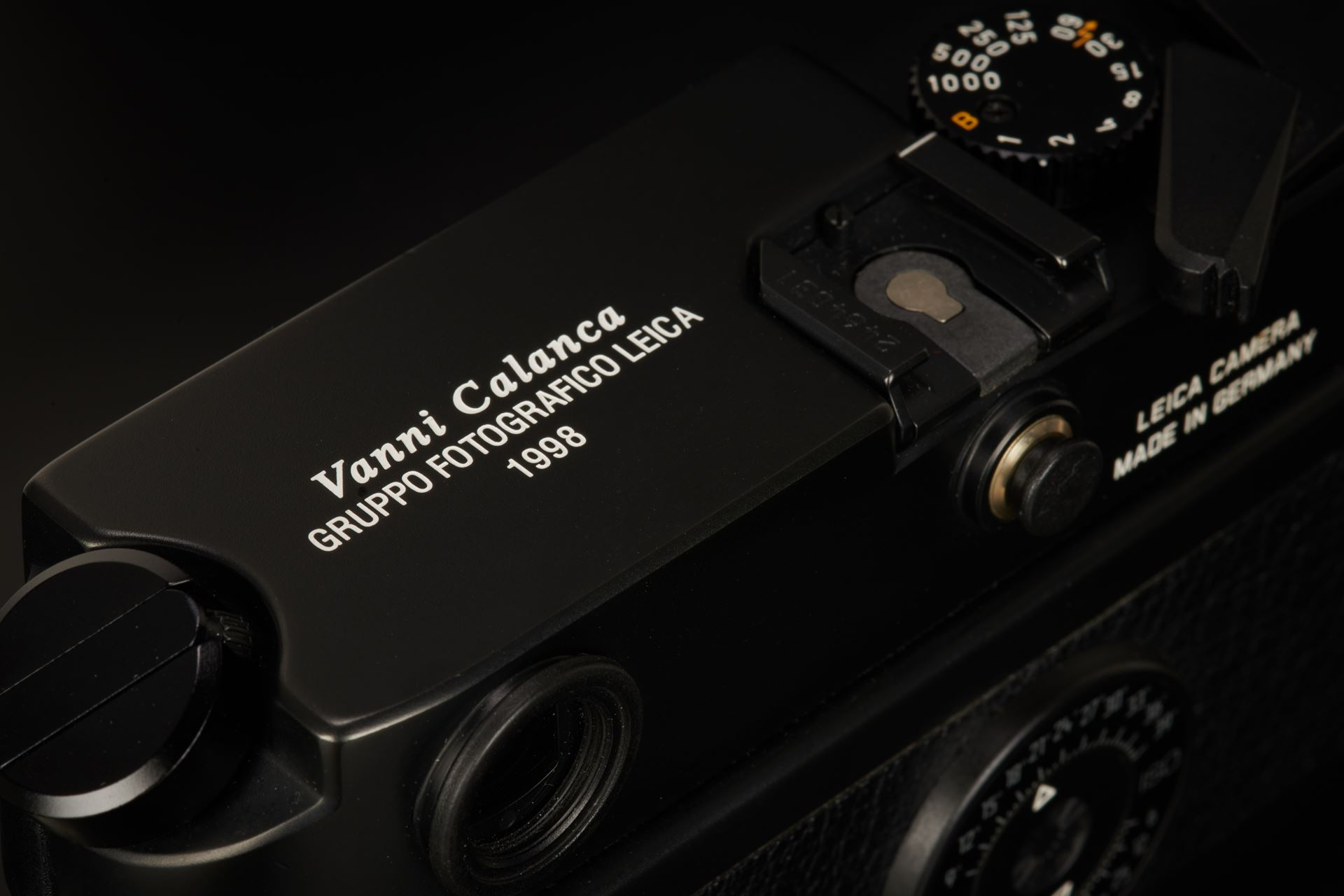 "Picture of leica m6 0.85 black ""vanni calanca"""