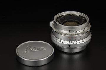 Picture of leica summicron 35mm f/2 8-element screw ltm