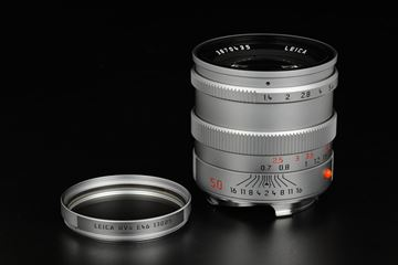 Picture of leica summilux 50mm f/1.4 pre-asph silver chrome
