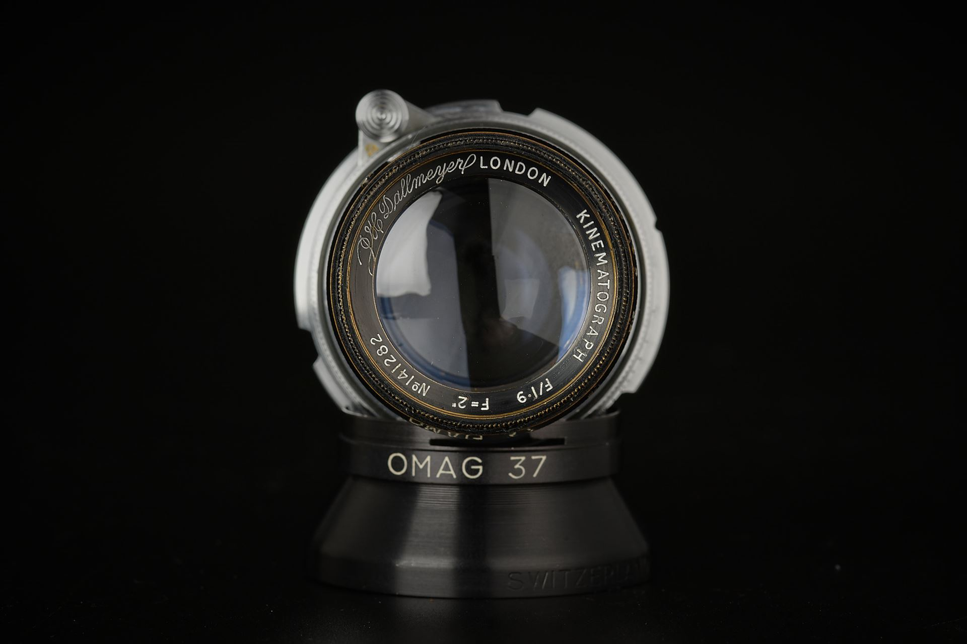 Picture of dallmeyer kinematograph 2inch f/1.9 modified for leica m