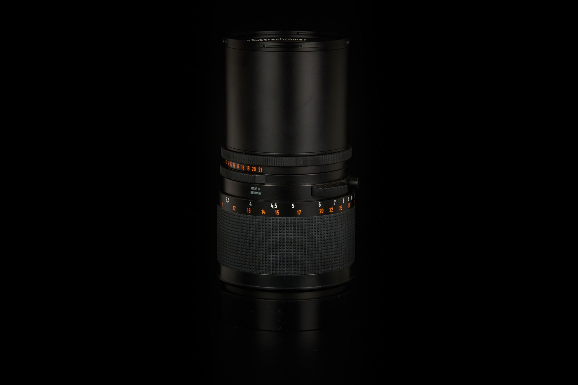 Picture of carl zeiss f. hasselblad sonnar superachromat cf 250mm f/5.6