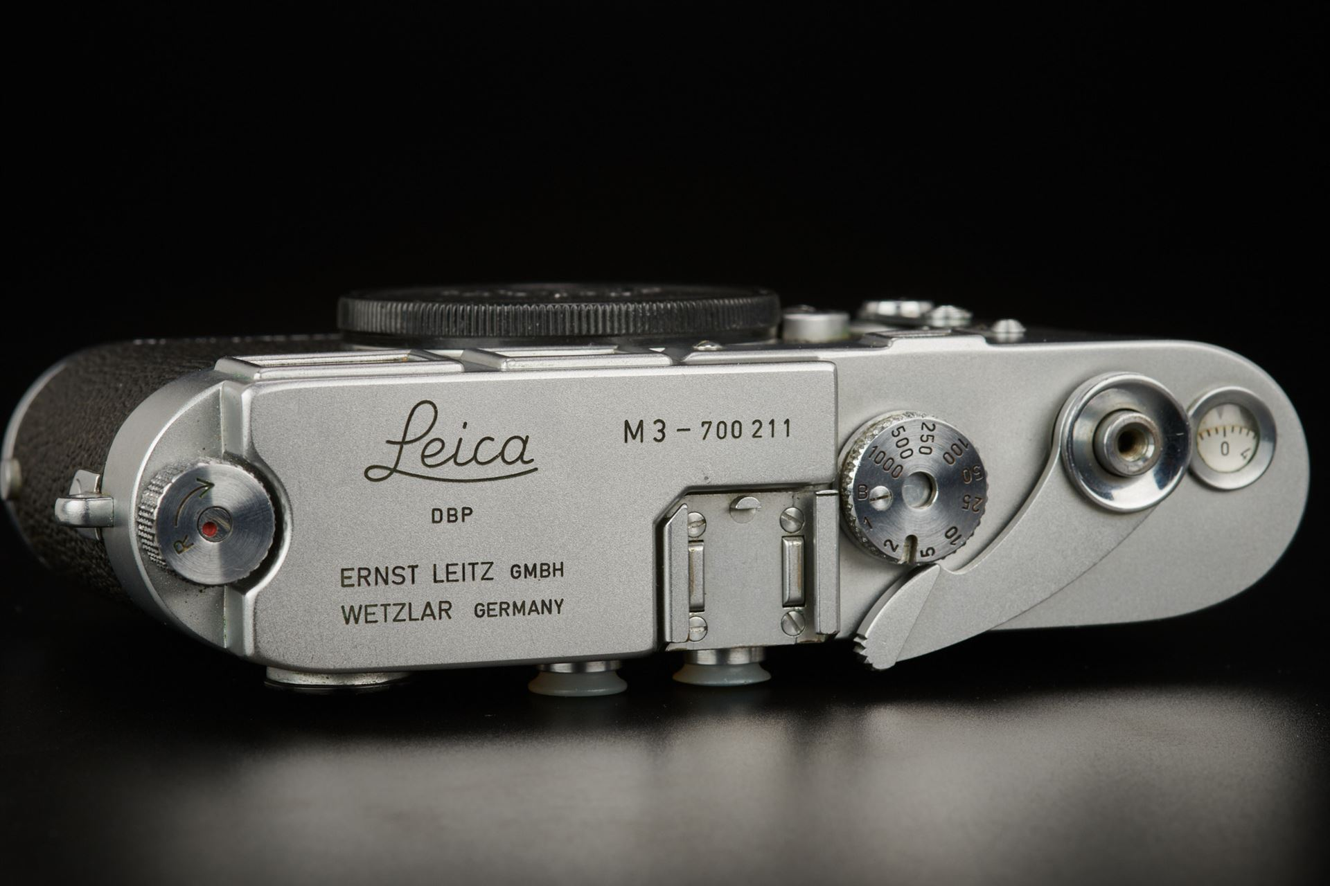 Picture of leica m3 early batch silver