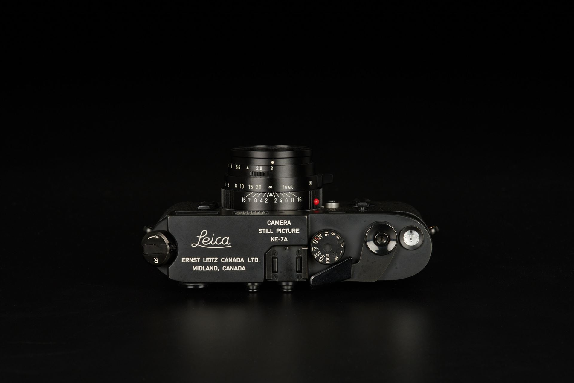 Picture of leica ke-7a m4 military set with elcan 50mm f/2