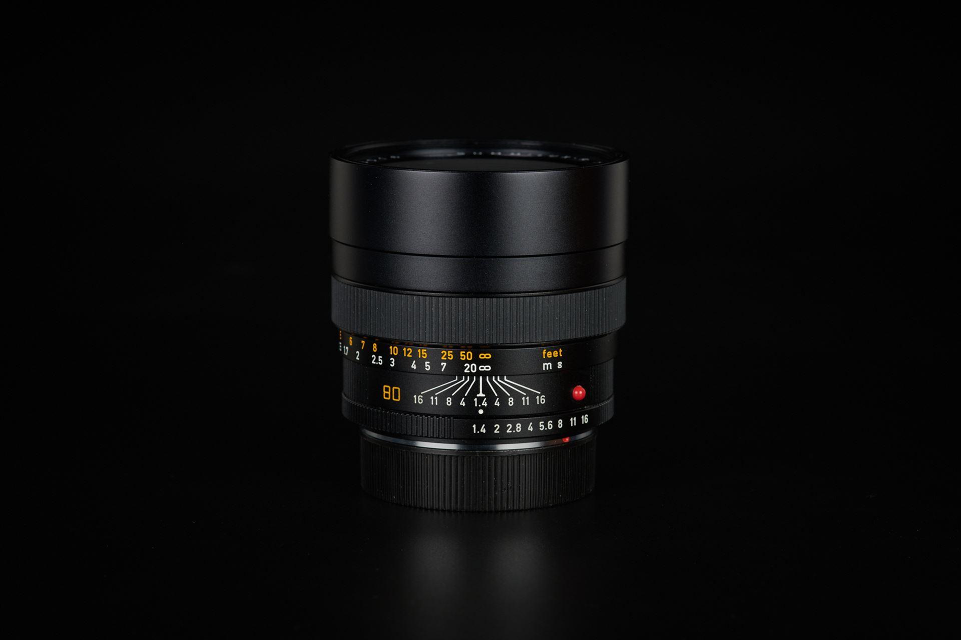 Picture of leica summilux-r 80mm f/1.4