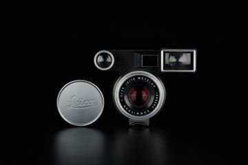Picture of leica summicron 8-element 35mm f/2 silver goggle for m3