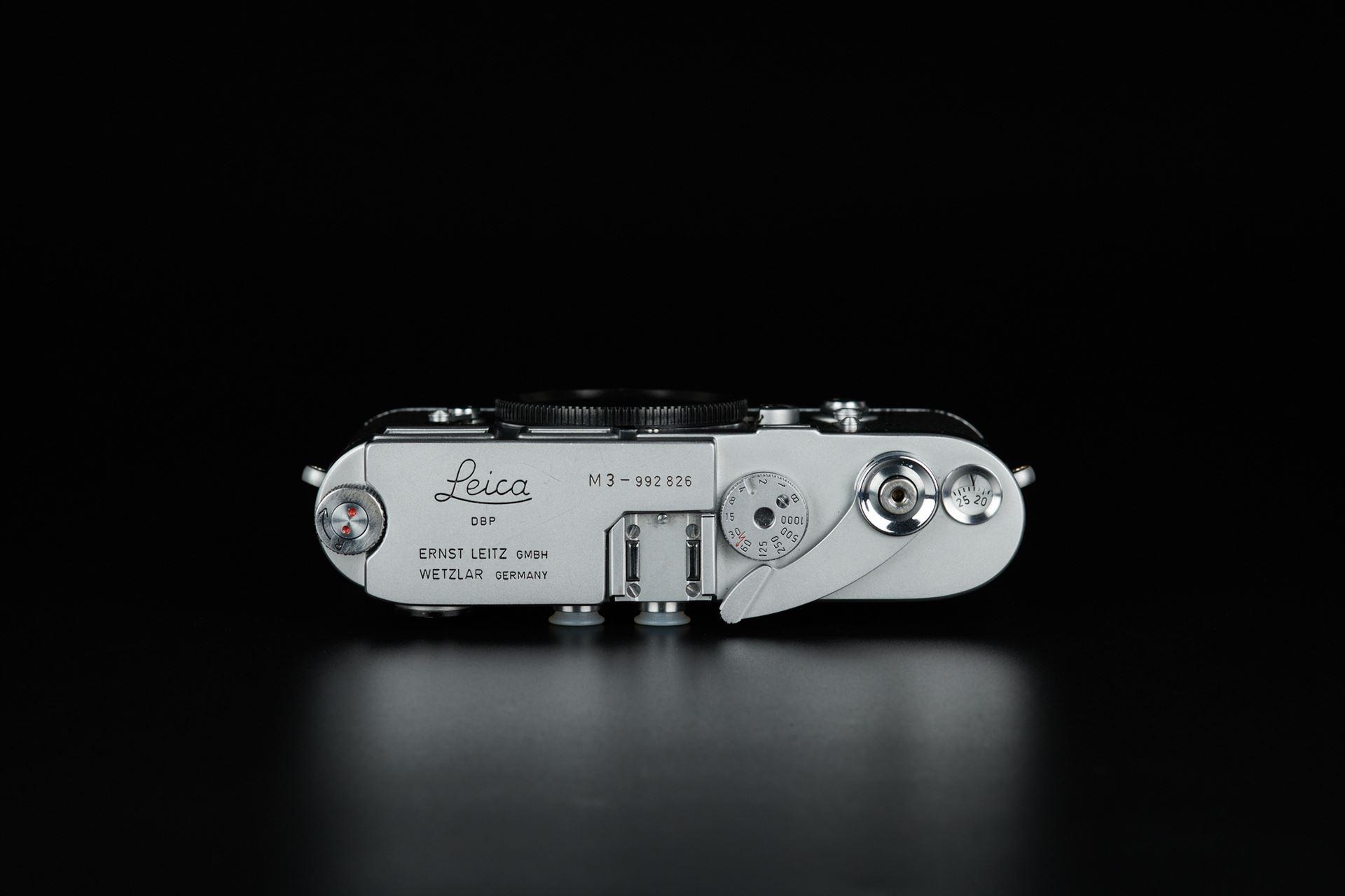 Picture of leica m3 single stroke silver