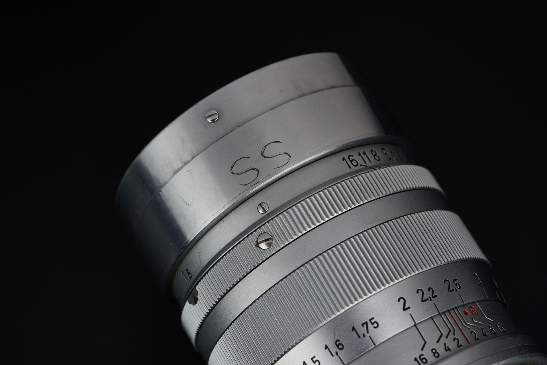 Picture of leica summarex 8.5cm f/1.5 silver screw ltm