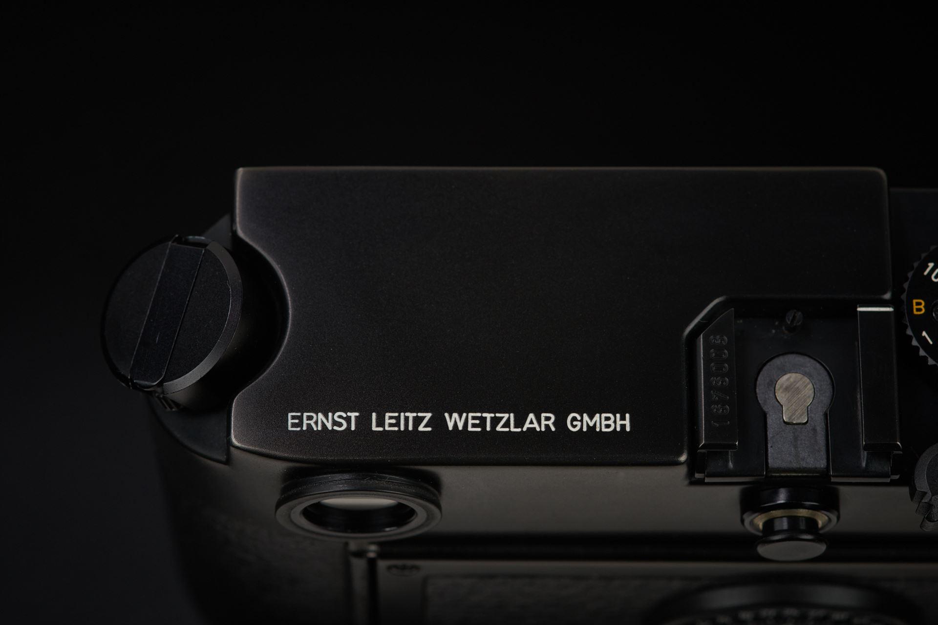 Picture of leica m6 0.72 black chrome