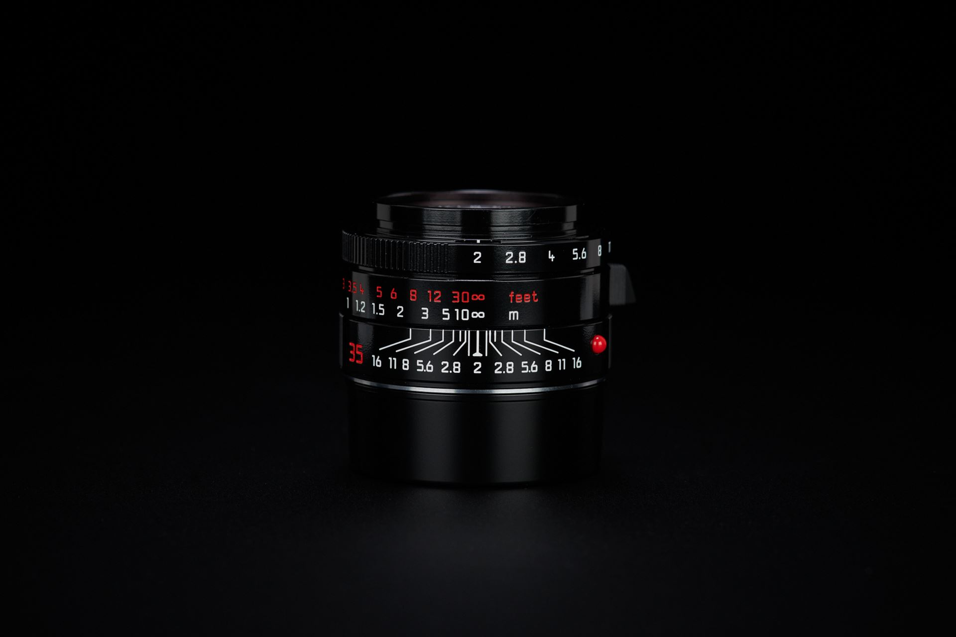 """Picture of leica m monochrom """"signature"""" by Andy summers black paint"""