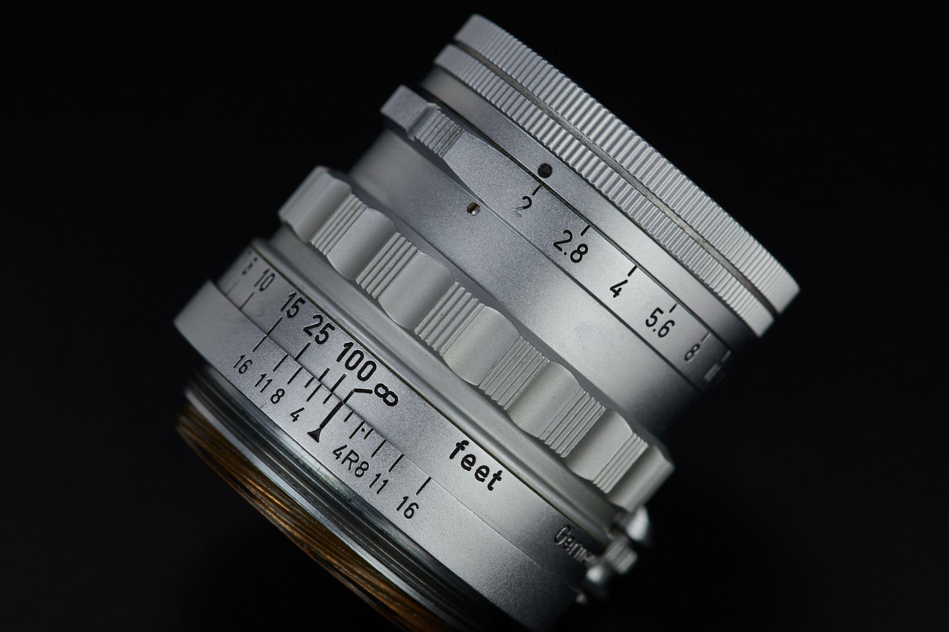 Picture of leica summicron 5cm f/2 rigid ltm chrome
