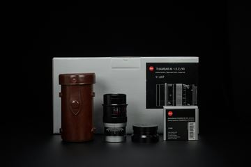 Picture of leica thambar-m 90mm f/2.2 black